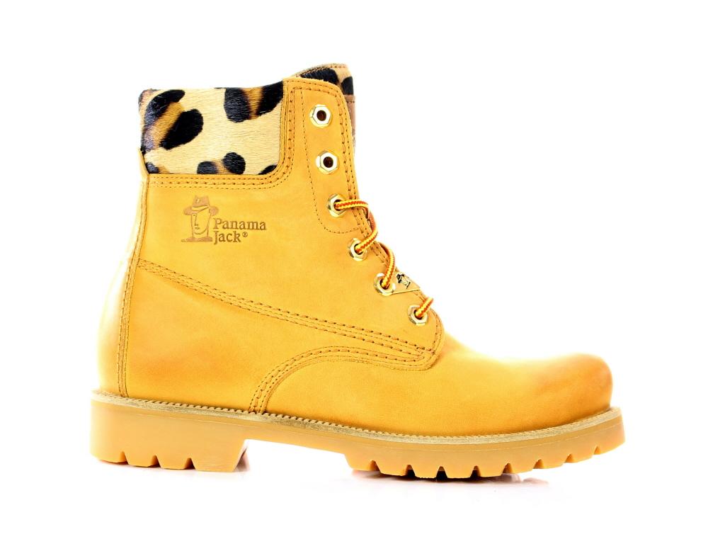 panama jack panama 03 leopard b1 boots dames nijhof. Black Bedroom Furniture Sets. Home Design Ideas